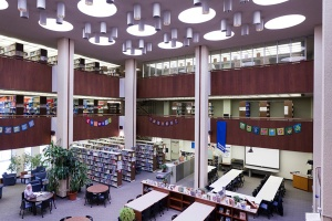 The Faculty of Education Library, Duncan McArthur Hall